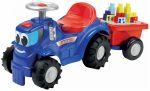 Porovnat ceny Écoiffier odrážadlo traktor s kockami Maxi Abrick 7799 modrý