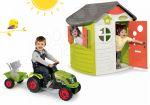Porovnat ceny Smoby set domček Jura Lodge a traktor Claas GM 310263-17
