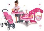 Porovnat ceny Smoby set domček pre bábiku Baby Nurse a kočík pre bábiky dvojičky Maxi Cosi & Quinny Twin 220318-6