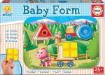 Porovnat ceny Educa baby detské puzzle Baby Form tvary 15862 farebné