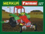 Porovnat ceny Stavebnice MERKUR Farmer Set 20 modelů 341ks v krabici 36x27x5,5cm