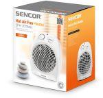 Porovnat ceny SENCOR SFH 7011WH Teplovzdušný ventilátor, biely 41006979