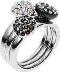 Porovnání ceny Emporio Armani Sada tří prstenů EGS1969040 58 mm