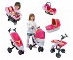 Porovnat ceny Smoby detský kočík pre bábiku Maxi Cosi & Quinny 3v1 a retro autosedačka 550385