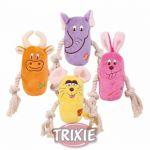 Porovnání ceny Trixie Plyšová zvířátka s bavlněnými uzlíky, různé druhy 13 cm
