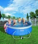 Porovnání ceny Bestway 57127 Samostavěcí zahradní bazén 457 x 107 cm s příslušenstvím