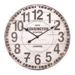 Porovnání ceny Balance Velké nástěnné hodiny dřevěné 60 cm Analogové KENSINGTON STATION