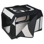 Porovnání ceny Trixie Transportní nylonový box Vario S 61x43x46 cm černo-šedý