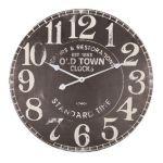 Porovnání ceny Balance Velké nástěnné hodiny dřevěné 60 cm Analogové OLD TOWN CLOCKS