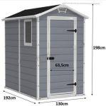 Porovnat ceny KETER MANOR 4 x 6 S záhradný domček 17197126