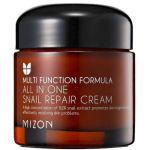 Porovnat ceny Mizon All In One Snail Repair Cream - Regeneračný pleťový krém s filtrátom zo slimačieho sekrétu 92% 75 ml