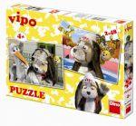 Porovnat ceny neuveden Vipo v Evropě - puzzle 2 motivy v balení 2x48 dílků