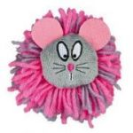 Porovnání ceny Trixie Plyšová myška s vlněným límcem Pomopom s rolničkou 8 cm