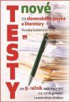 Porovnat ceny Vydavateľstvo Príroda s.r.o. Nové testy zo slovenského jazyka a literatúry 9.ročník ZŠ
