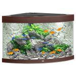Porovnání ceny Akvárium set JUWEL Trigon LED 190 tmavě hnědé 190l