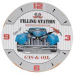 Porovnání ceny Nástěnné hodiny Modré auto, pr. 33 cm - Nástěnné hodiny Modré auto, pr. 33 cm