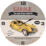 Porovnání ceny Nástěnné hodiny Žluté auto, pr. 33 cm - Nástěnné hodiny Žluté auto, pr. 33 cm