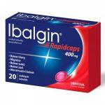 Porovnání ceny ZENTIVA A.S. Ibalgin Rapidcaps měkké tobolky 400 mg x 20 kusů