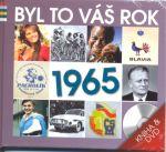 Porovnat ceny Popron Music s. r. o. Byl to Váš rok 1965 - DVD+kniha