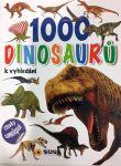 Porovnat ceny Nakladatelství SUN s. r. o. 1000 dinosaurů se samolepkami
