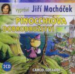 Porovnat ceny Popron Music s. r. o. Pinocchiova dobrodružství - 2CD