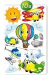 Porovnání ceny Samolepka Letadla a balón 60 x 100 cm