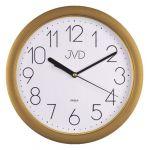 Porovnání ceny Plastové netikající tiché hodiny JVD sweep HP612.26 - metalická zlatá