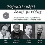 Porovnat ceny Popron Music s. r. o. Nejoblíbenější české povídky - 2CD (čte Rudolf Hrušínský)