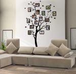 Porovnání ceny Shopnisi Samolepka na zeď Strom na rodokmen, 185 x 100 cm