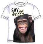 Porovnání ceny Triko Say Hello Šimpanz