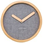 Porovnání ceny Nástěnné hodiny Jeans Calm 30 cm dřevěné - NEXTIME