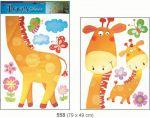 Porovnání ceny Anděl Přerov Samolepka Room Decor Žirafa 79x49cm