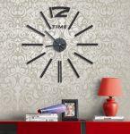 Porovnání ceny PENTA CZ s.r.o. - G21 Levné nalepovací černé hodiny na zeď G21 Classic Style HM4-WSC-10E028