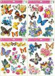 Porovnání ceny Anděl Přerov Okenní fólie Motýli a květy 42x30cm set