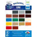 Porovnání ceny Balakryl UNI mat V 2045 0,7 kg Tmavě hnědá 0240
