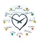 Porovnání ceny Nástěnné hodiny Loving You 43 cm - NEXTIME