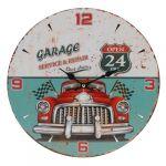 Porovnání ceny Nástěnné hodiny Červené auto, pr. 33 cm - Nástěnné hodiny Červené auto, pr. 33 cm
