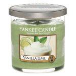 Porovnat ceny Sviečka v sklenenej dóze Yankee Candle Vanilka s limetkami, 198 g