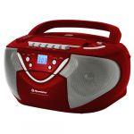 Porovnat ceny Rádiomagnetofón Roadstar RCR-4650 USMP, červený