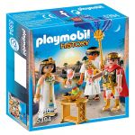 Porovnat ceny Caesar a Kleopatra Playmobil Rimania a Egypťania, 10 dielikov