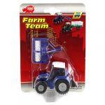 Porovnat ceny Traktor Dickie S prívesom, 16 cm, modrý
