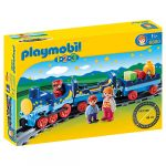 Porovnat ceny Môj prvý vláčik s koľajnicami Playmobil 1.2.3, 18 ks