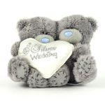 Porovnat ceny Medvedík Me to You Medvedík 10 cm strieborná svadba