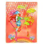 Porovnat ceny Zošit A4 PVC štvorčeky Winx Club Zošit A4 PVC 80 listov štvorčeky Bloom&Stella s dáždnikmi