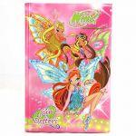 Porovnat ceny Poznámkový blok A5 čistý Winx Club Poznámkový blok poem 96 listov Bloom&Stella&Flora s krídlami