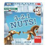 Porovnat ceny Postrehová stolová hra Dino Doba ľadová: 3-2-1 Nuts!