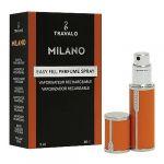 Porovnat ceny Plniteľný flakón Travalo Milano, oranžový, 5 ml