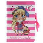 Porovnat ceny Zápisník s bločkami Top Model Manga Model, ružovo-biely