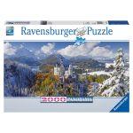 Porovnat ceny Ravensburger Puzzle panoráma 2000 dielikov Neuschwanstein