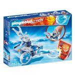 Porovnat ceny Frosty s odpaľovačom Playmobil Šport a akcia, 6 dielikov